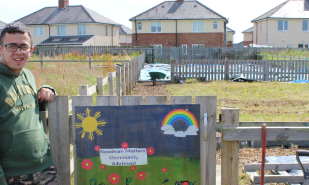 Volunteers sought for a community allotment