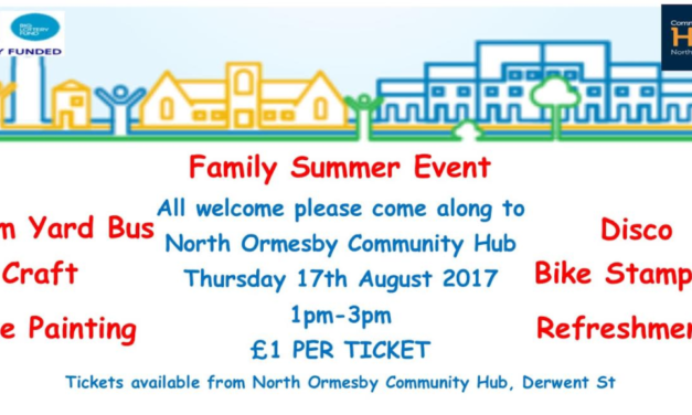 Summer Fun for All at North Ormesby Big Local