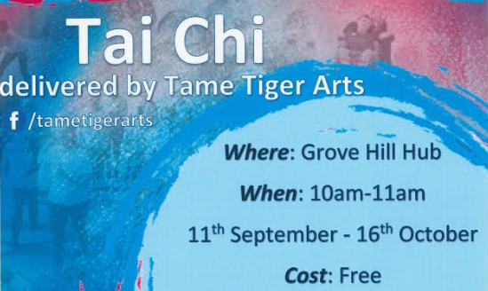 Try Tai Chi for Free at Grove Hill Hub