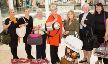 intu Metrocentre supports Soroptimists' call out for New Start Bags