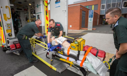 Simulation exercise helps students deliver first-class emergency response