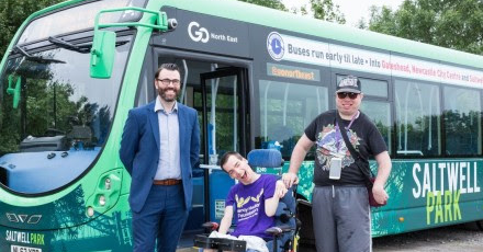 Gateshead music festival teams up with Go North East for disabled music fans