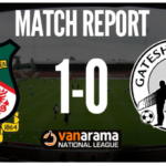 Match Report: Wrexham AFC 1 – 0 Gateshead