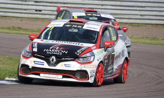 Rock solid weekend for Coates in Renault UK Clio Cup