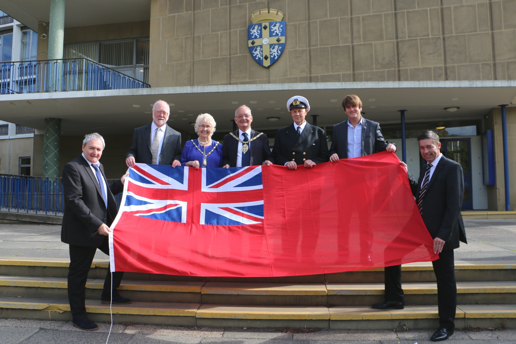 Raising The Red Ensign North East Connected