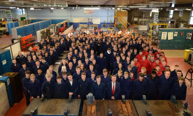 TTE welcomes new learners taking first steps to careers in industry