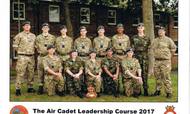 Gold for Chester-Le-Street Air Cadet
