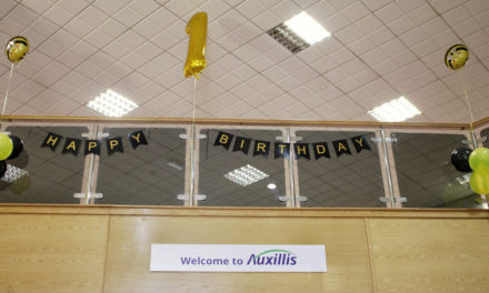 Double Anniversary for Auxillis