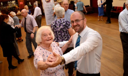Tea Dancers Waltzing on in Whitley Bay Thanks to Newcastle Building Society Support