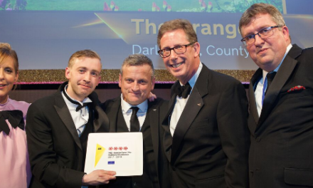 Four AA Rosettes for The Orangery at Rockliffe Hall