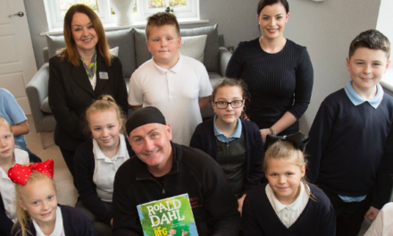 Whizzpopper! Local housebuilder holds storytelling event for Durham pupils to celebrate Roald Dahl Day