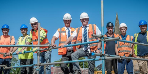Local Tradespeople Employed by leading Housebuilder in Morpeth
