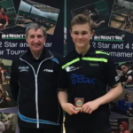 Table Tennis player selected as part of the Special Olympic touch relay