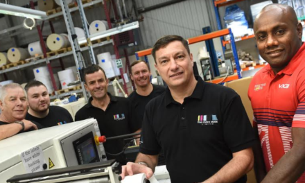 Tees labelling firm backs Invictus Games