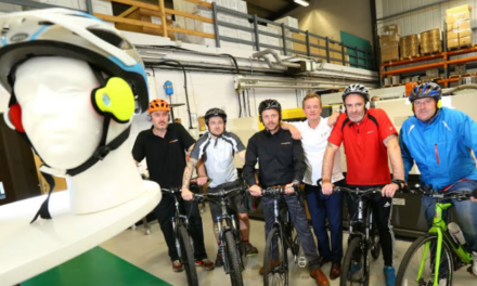 Leading North East manufacturer road tests client's product as team cycles Coast to Coast