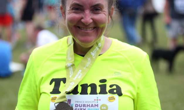 Tania tackles Great North Run after overcoming fear