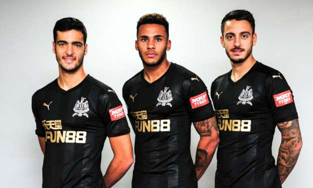 MRF announced as NUFC shirt sleeve sponsor