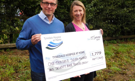 24 hour challenge clocks up 99 miles and raises £1,779 for Hospice