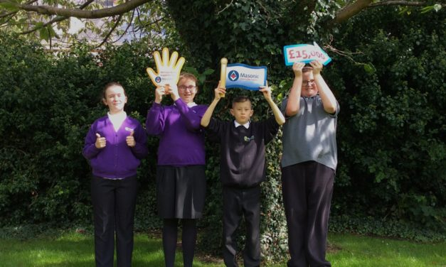 Freemasons grant to boost forest school plans for disability school