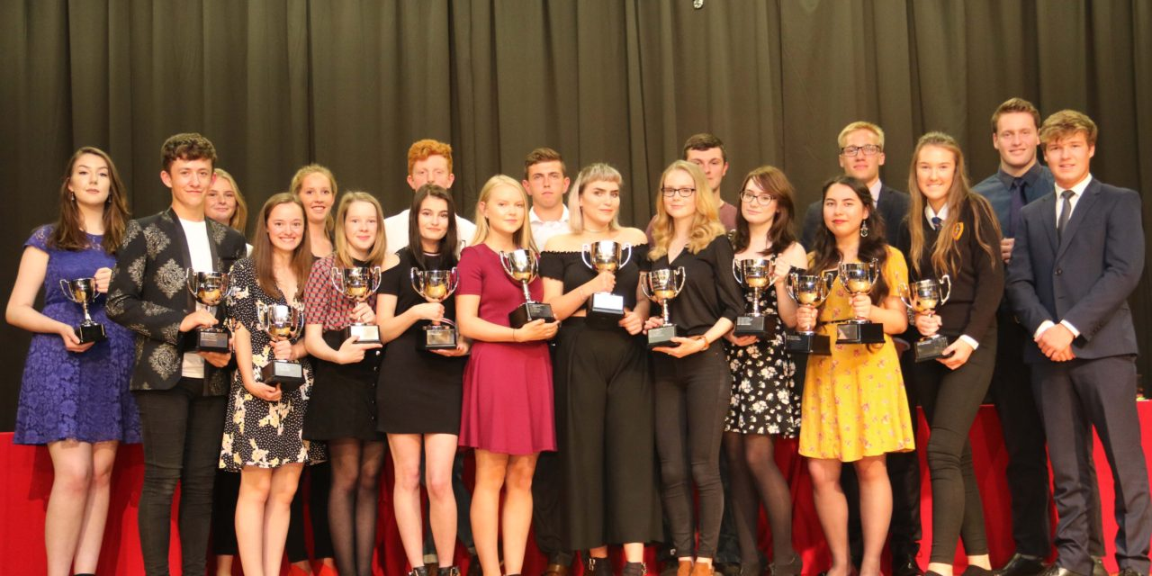Award winning students urged to use failure for future success