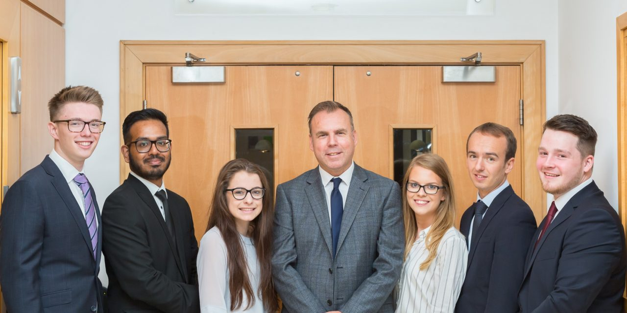 RSM welcomes eight new recruits in Newcastle