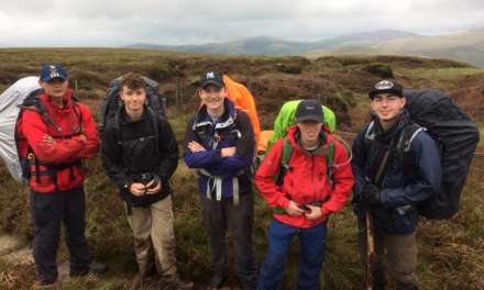 Air Cadets Complete Challenging Gold Duke of Edinburgh's Expedition
