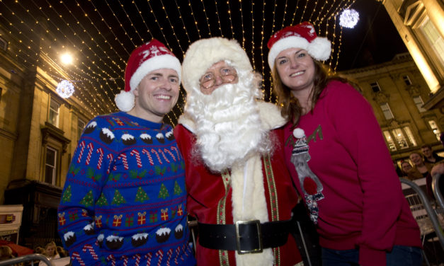 Newcastle City Centre Christmas Lights Switch-on