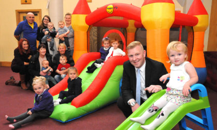 Tyne Tunnel donation gives a boost to Wallsend toddler group