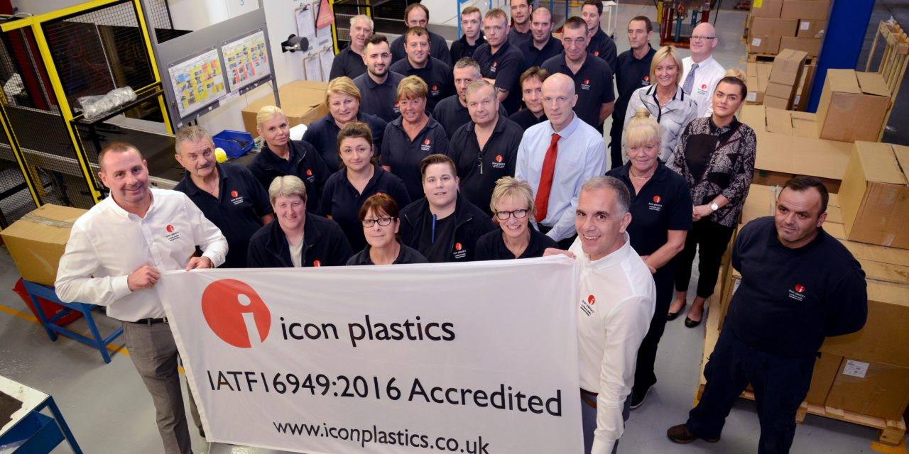 Teesside firm becomes one of only two companies in the North East to be awarded the highest standard for automotive quality management systems