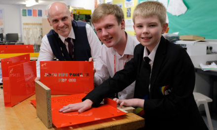 Young engineer brings STEM learning to Haughton Academy students at his former school