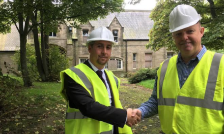 Work Starts on Pendower Hall as Main Contractor Announced