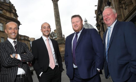 Property firm celebrates success in city centre office market