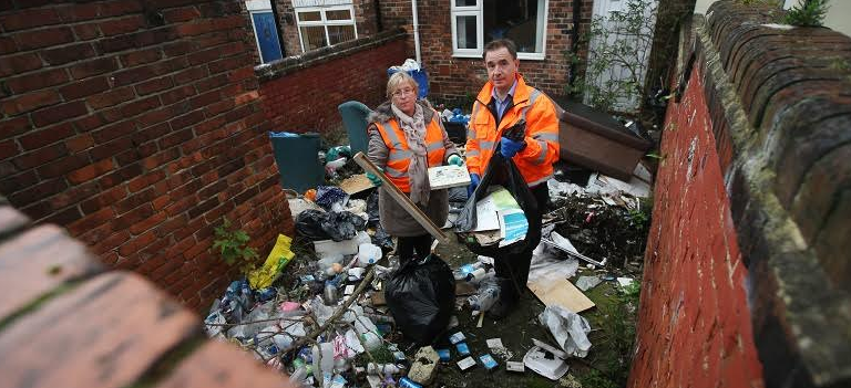 Partners tackle numbered streets in Horden