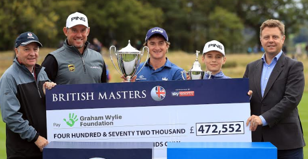 Huge Sum Raised for Graham Wylie Foundation at British Master