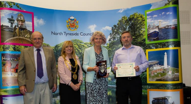 Recognising blooming brilliant effort by residents
