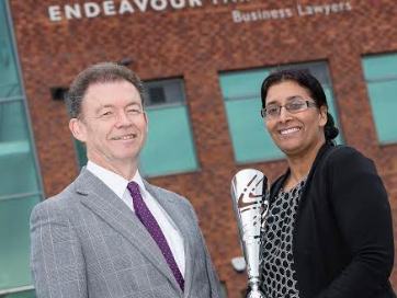 Top Teesside solicitor scoops Asian business award