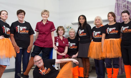 Newcastle Clinical Trials Team make a Stand – in Orange
