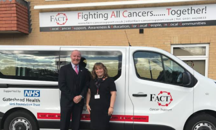 Minibus Sponsorship Helps take Essential Services into Local Communities