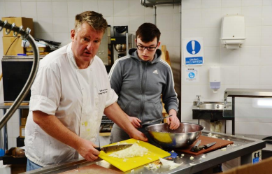 Matty's Bistro returns to ARC to deliver catering and hospitality training to young people