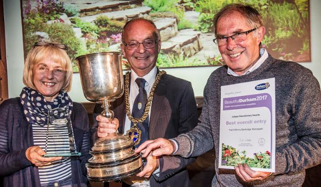Amateur gardeners crowned after helping city strike gold