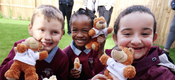 Local housing development holds celebrations for Teddy Bears Day