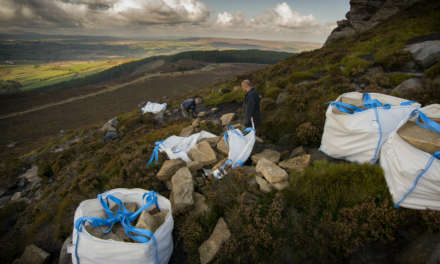 Major repair project takes flight at Northumberland National Park