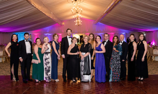 Spectacular charity ball raises £36k