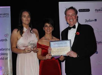 April's Dedication Leads to Autism Award