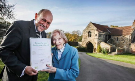Resident receives environment award for outstanding  contribution to Heritage Open Days