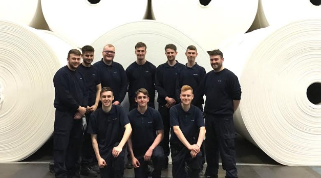 Northumberland tissue maker bucks national trend with new recruits