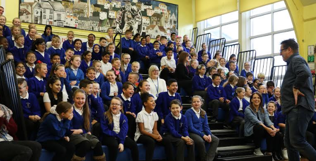 Special Author Session Wows Schoolchildren