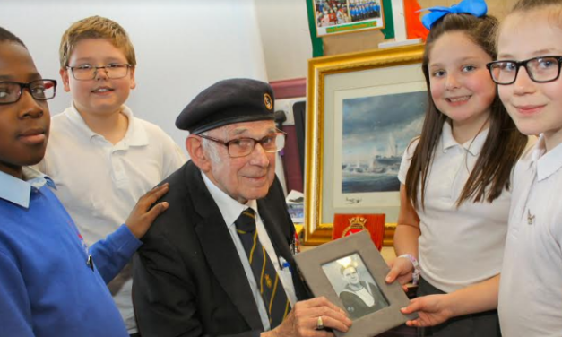 Pupils hear of war-time horrors