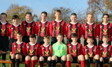 Young football players enter new venture