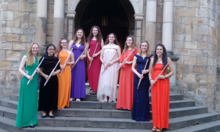 Durham Flute Choir Get Festive for Charity